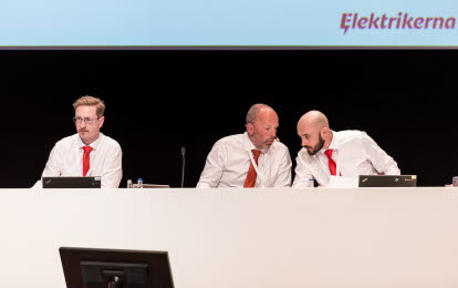 Kongress Elektrikerna presidium